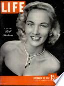 22 Սեպտեմբեր 1947