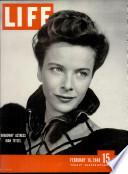 16 Փետրվար 1948