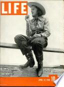22 Ապրիլ 1940
